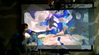 Серый проекционный экран своими руками (демонстрация)(Краска для создания черного проекционного экрана своими руками. Описание процесса и последующие экспериме..., 2014-01-05T13:52:40.000Z)