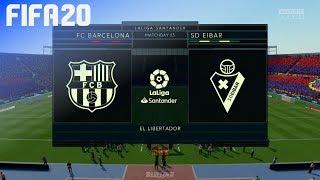 Gambar cover FIFA 20 - FC Barcelona vs. SD Eibar @ El Libertador