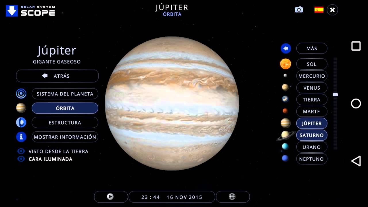 Solar System Scope App - YouTube