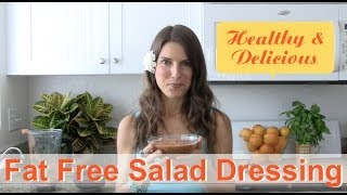 Fat Free Salad Dressing Recipe