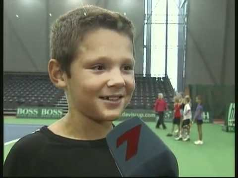Ernests Gulbis on OLIMPIADE.LV (in Latvian)