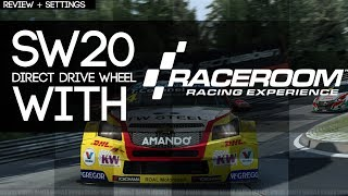 RaceRoom Racing Experience - With a Direct Drive Wheel - Review & OSW Settings