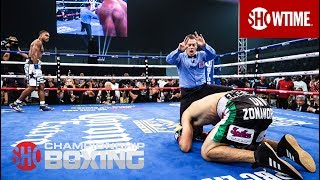 Errol Spence Jr. Knocks Out Carlos Ocampo in Round 1 | SHOWTIME CHAMPIONSHIP BOXING