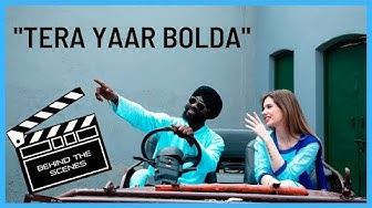 "BEHIND THE SCENES: ""TERA YAAR BOLDA"" | Bhangra by Christine |"