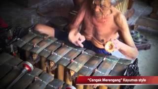"""Let's study Gender wayang """"Cangak Merengang"""" Kayumas style"""