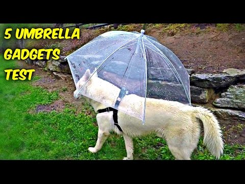 5 Umbrella Gadgets put to the Test