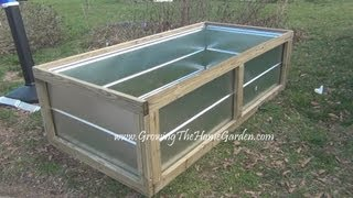 Building A Metal Raised Bed For The Vegetable Garden Video.wmv