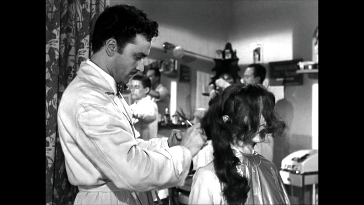 try on a haircut hepburn gets haircut in 1953