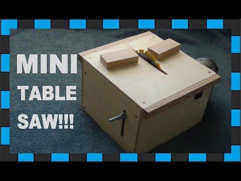 How to make a mini table saw!!!