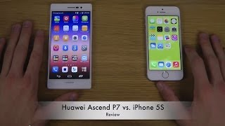 Huawei Ascend P7 vs. iPhone 5S