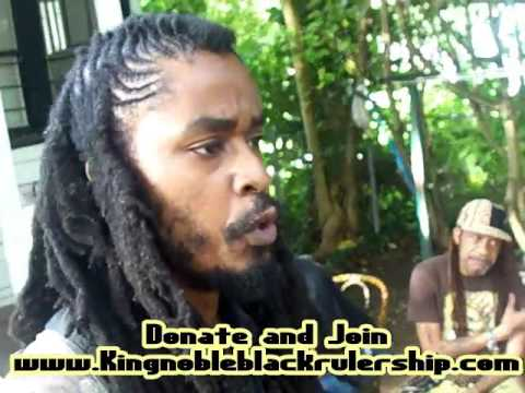 King Noble Black Messaiah Speaks At Claim Black Independance Day Atlanta