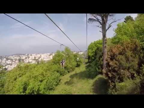 Sessellift-Fahrt vom Monte Solaro nach Anacapri, Capri