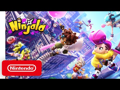 Nintendo Switch - Ninjala  - Announcement Trailer