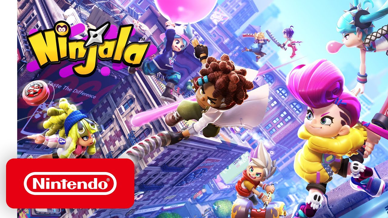 Nintendo Switch - Ninjala - Announcement Trailer - Nintendo