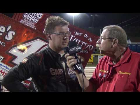 Lincoln Speedway World of Outlaws Podium Interview 5-19-16