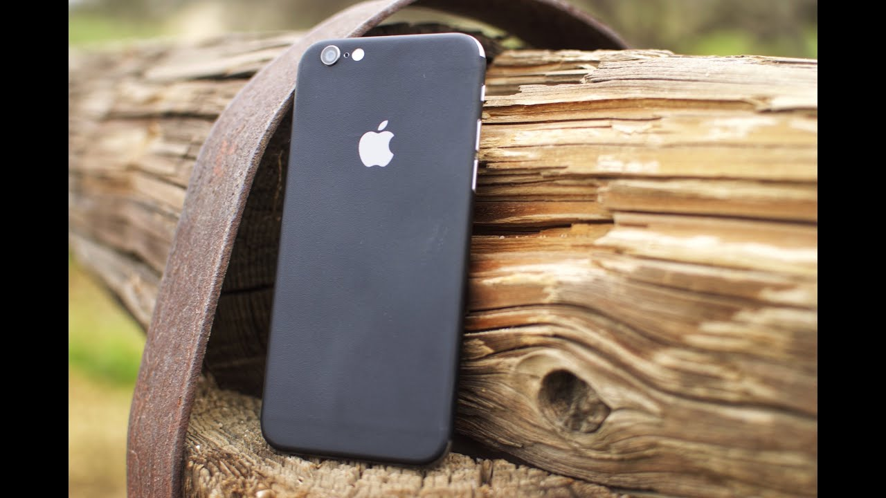 Dbrand Matte Black Skin For Iphone 6 Review Youtube