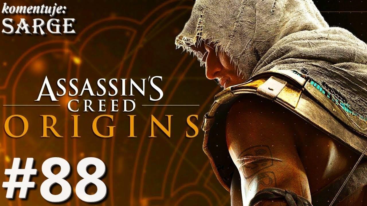 Zagrajmy w Assassin's Creed Origins [PS4 Pro] odc. 88 – Próba Sobka