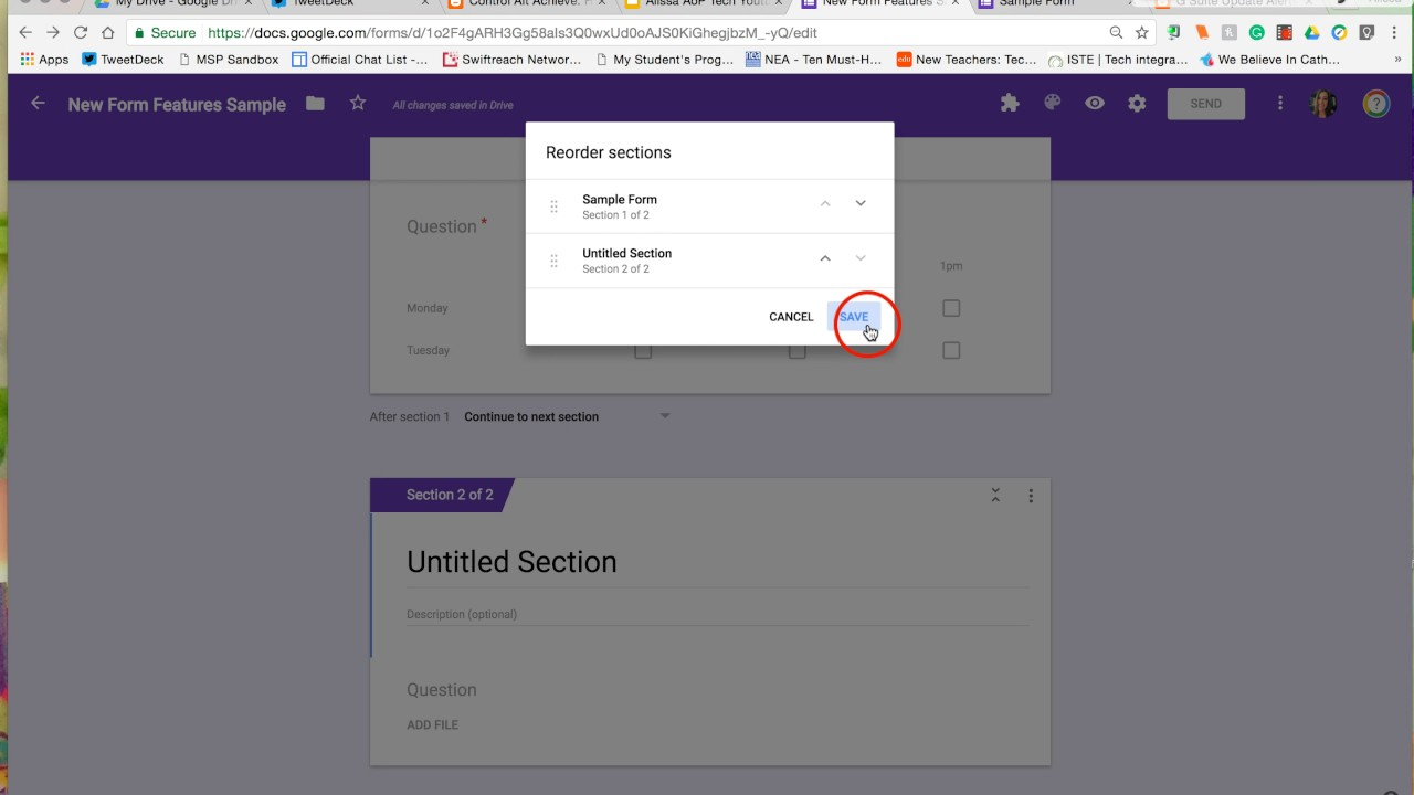 New Google Forms Features! July 2017 - YouTube