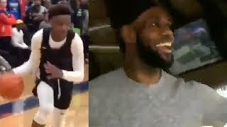 Bronny Jr's CLUTCH Buzzer Beater PROVES He WIll Be BETTER Than LeBron James!