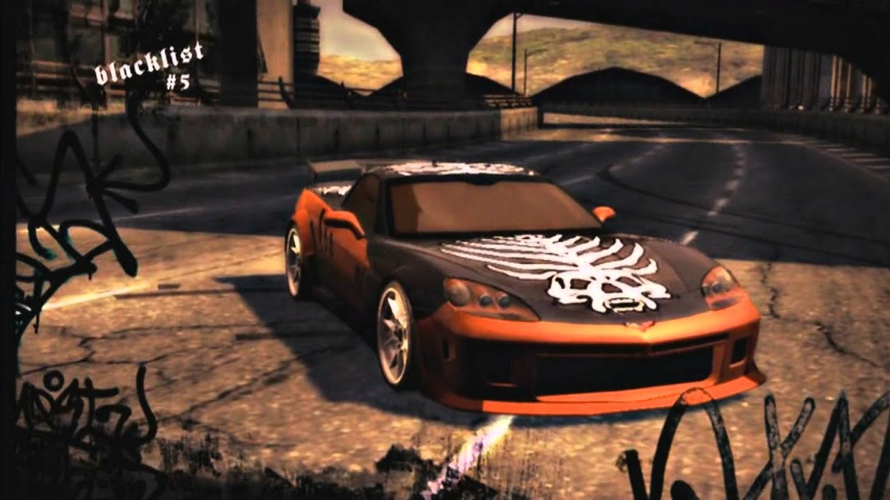 NFS Most Wanted Blacklist Bio - #5 Webster - YouTube