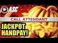 ★JACKPOT HANDPAY!★ GOLDEN PUMPKIN | KONAMI - Slot Machine Bonus (PART 2 of 2)