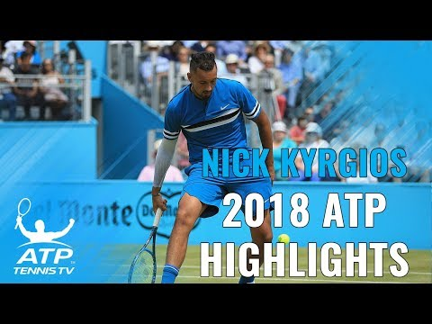 NICK KYRGIOS: 2018 ATP Highlight Reel