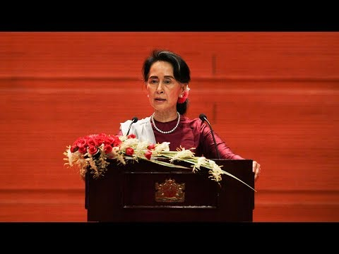 Full video: Aung San Suu Kyi says Myanmar ready to verify refugee status
