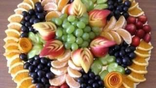 Красивые оформление салатов