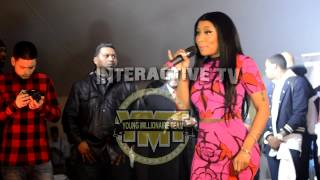 Nicki Minaj says she can handle Meek Mill on stage