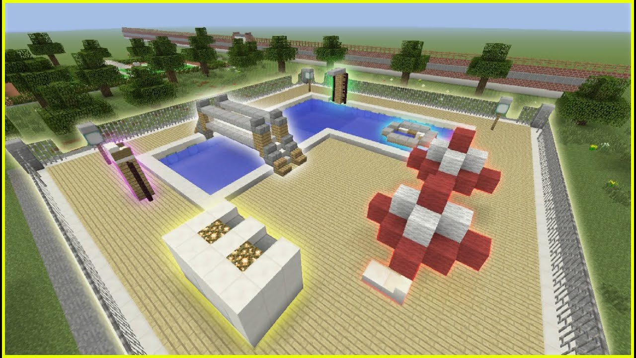 Minecraft Swimming Pool Map Download