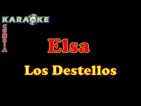 Los Destellos - Elsa - Karaoke