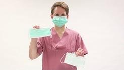 Mund-Nasen-Schutz: so wird er korrekt aufgesetzt und getragen