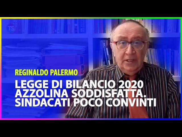 Legge di bilancio 2020, Azzolina soddisfatta. Sindacati poco convinti