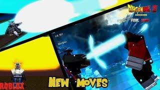 Novos movimentos OP! | Futuro DB final stand-Roblox