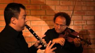 Berceuse for clarinet, violin, & harp, by David S. Lefkowitz