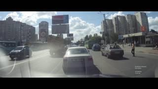 Пешеход идиот
