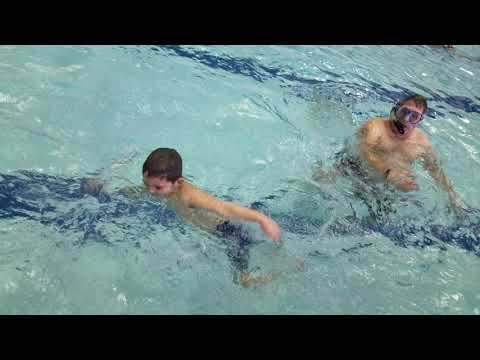 Carter Passes Swim Test