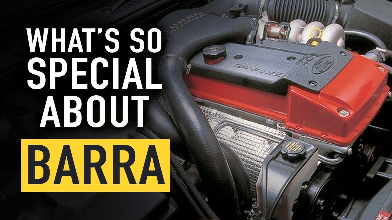 Why is the Ford Barra motor so good?