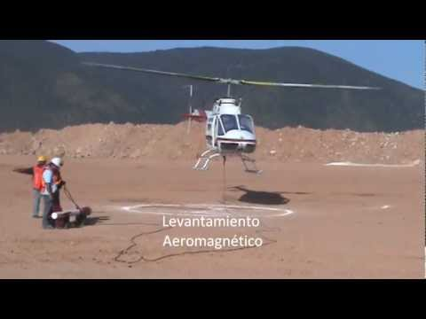Aeromagnetic data acquisition using helicopter - Geophysical Surveys