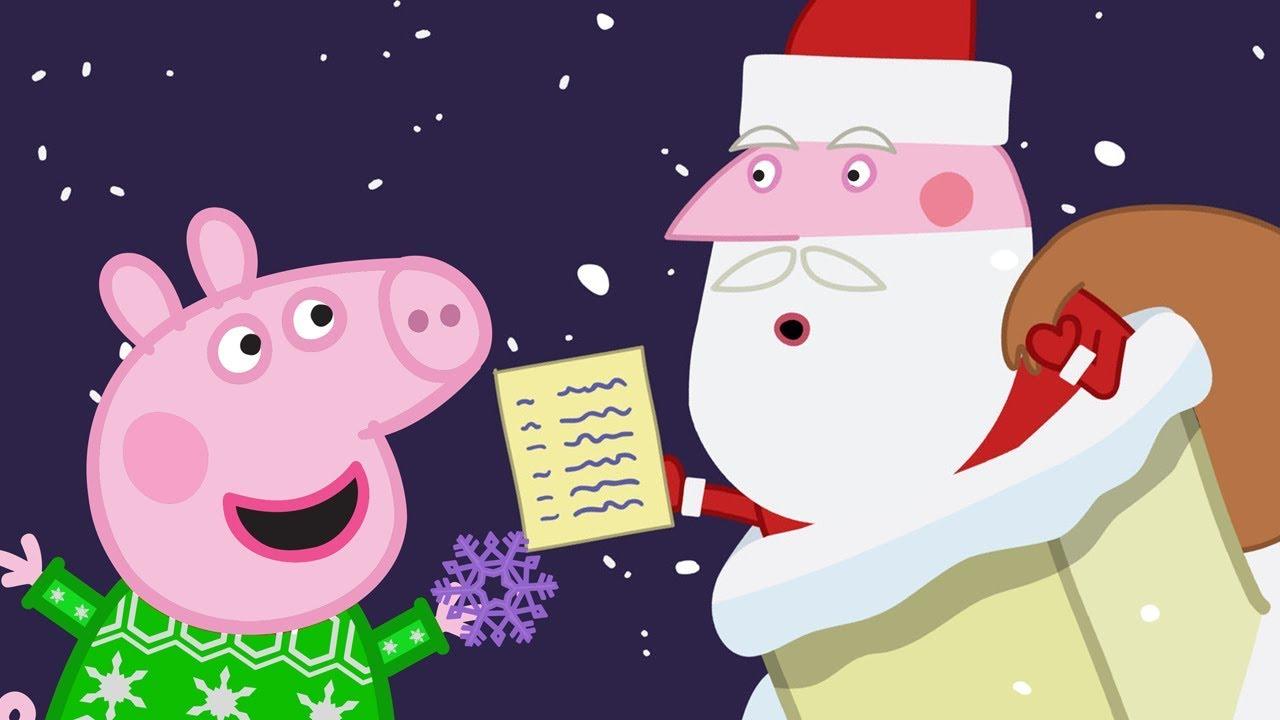 Peppa Pig Natale.Peppa Pig Italiano Arriva Babbo Natale Collezione Italiano Cartoni Animati Peppa Natale Youtube