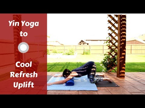 🌞Summer Yin Yoga to Cool, Refresh & Uplift {35 mins} | Chest, Throat, Shoulders, Upper Back Opening