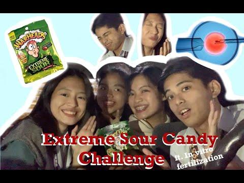 Super Sour Candy Challenge ft. in vitro fertilization