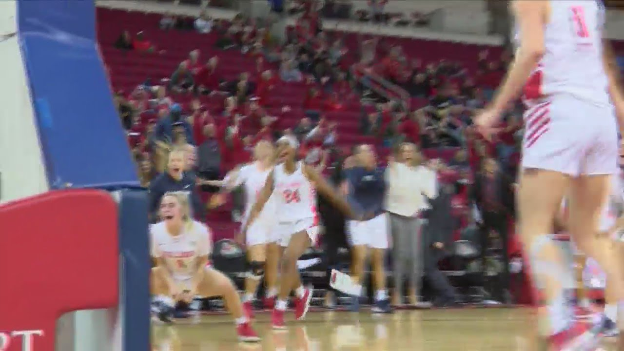 WATCH: Fresno State women beat Colorado State on dramatic buzzer-beater