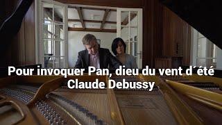 Six épigraphes antiques. Pour invoquer Pan, dieu du vent d'été - Debussy