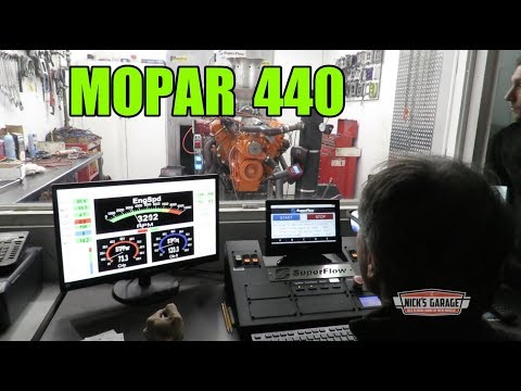 MOPAR 440 Built From Used Parts Dyno Tested - Junk Yard Dog
