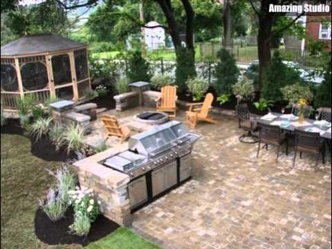 Outdoor Kitchen Gazebo Designs