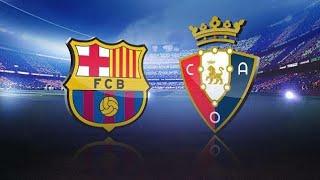 Fifa 20| fc barcelona vs osasuna| full match