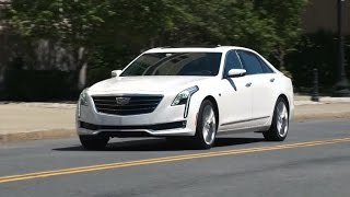 Cadillac CT6 2016 Review with Steve Hammes