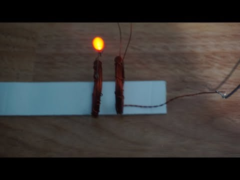 How to make a Wireless Power Transmitter (With Explanation) | Working model of Wireless Electricity