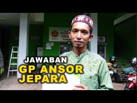 Jawaban Ketua GP Ansor Jepara soal Ust Abdul Somad | FULL